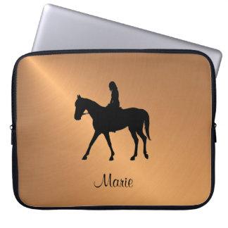 Copper Shine Equine Computer Sleeve