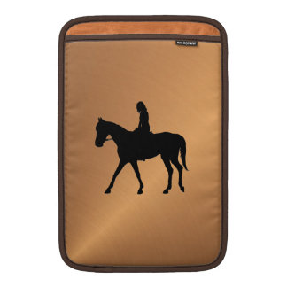 Copper Shine Equine MacBook Air Sleeve
