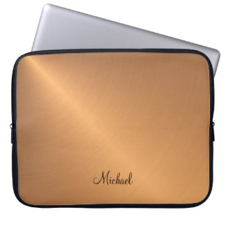 Copper Shine Personal Laptop Sleeve
