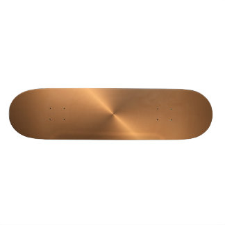 Copper Shine Skateboard Deck