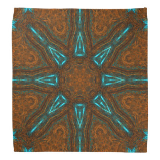 Copper Skylight Dome Mandala Bandana