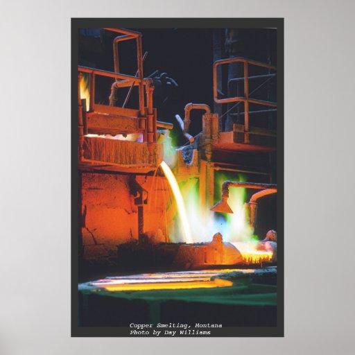 Copper Smelting Print