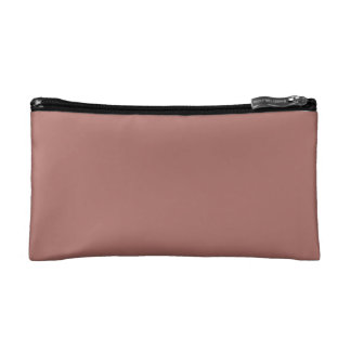 Copper Solid Color Cosmetics Bags
