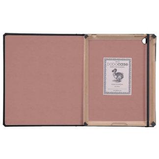 Copper Solid Color iPad Case