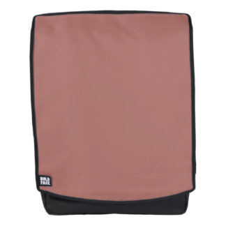 Copper Solid Color Customize It Backpack