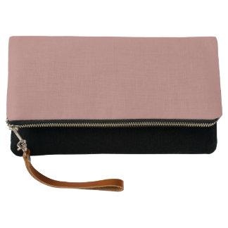 Copper Solid Color Customize It Clutch