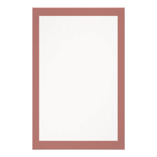 Copper Solid Color Stationery
