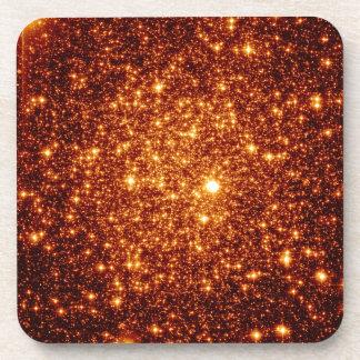 Copper Stars Drink Coaster