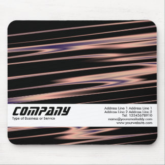 Copper Strands Abstract II, Business Mouse Pad