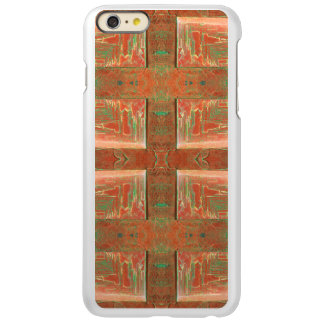 Copper Tan Abstract Incipio Feather® Shine iPhone 6 Plus Case
