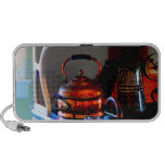 Copper Tea Kettle on Stove iPod Speakers