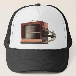 Copper thermograph trucker hat