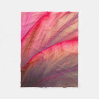 Copper Ti Plant Fleece Blanket
