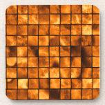 Copper Tiles Beverage Coasters