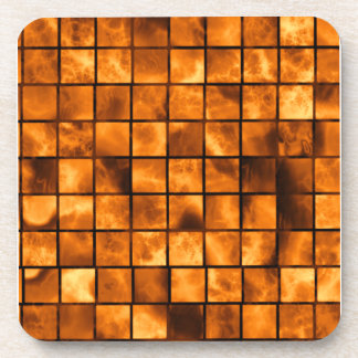 Copper Tiles Drink Coaster