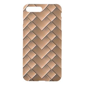 Copper Tiles iPhone7 Plus Clear Case