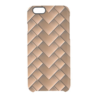 Copper Tiles iPhone 6/6S Clear Case