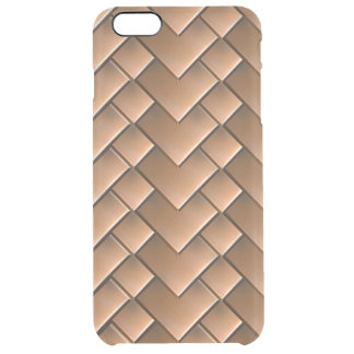 Copper Tiles iPhone 6/6S Plus Clear Case