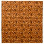 Copper Tiles Napkin