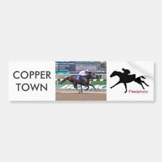 Copper Town Bumper Sticker