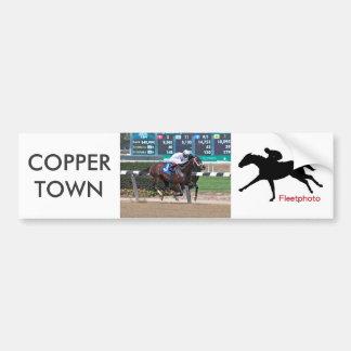 Copper Town & Johnny Vee Bumper Sticker