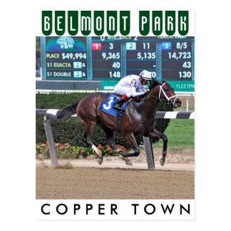 Copper Town & Johnny Vee Postcard