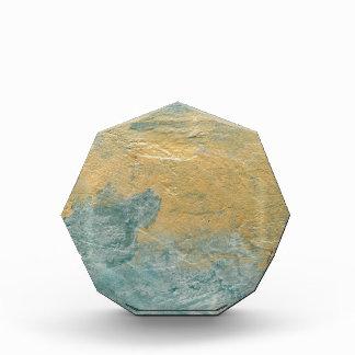 Copper Turquoise Faux Finish Award