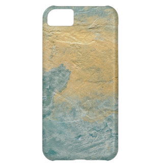 Copper Turquoise Faux Finish iPhone 5C Case