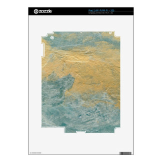Copper Turquoise Faux Finish Skin For The iPad 2