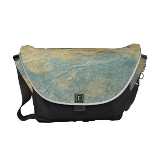 Copper Turquoise Messenger Bag