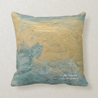 Copper Turquoise Pillows
