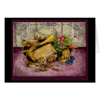 Copper Wedding Anniversary : Jupigio-Artwork.com Greeting Card