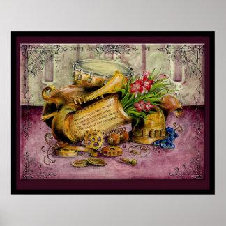 Copper Wedding Anniversary: Jupigio-Artwork.com Print