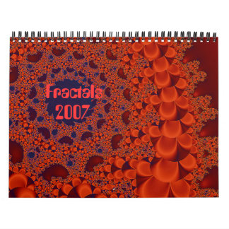 Copper Wreath, Fractals, 2007 Calendar