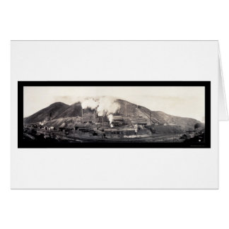 Copper Yampa Smelter Photo 1909 Card