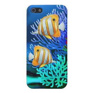 Copperband Butterfly Fish iPhone Case
