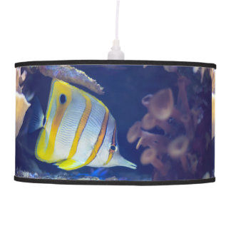 Copperband Butterflyfish Hanging Lamp