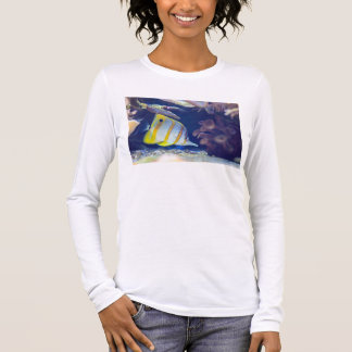 Copperband Butterflyfish Long Sleeve T-Shirt