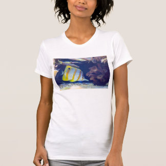 Copperband Butterflyfish T Shirts