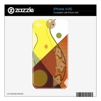 Copperhead Snake Nature Design Skins For The iPhone 4
