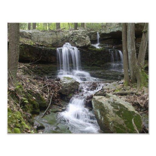 Coppermines Trail Waterfall Art Photo Zazzle