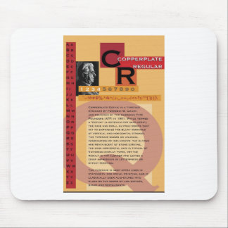 Copperplate Mouse Pad
