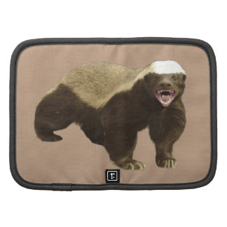 Coppertone Brown Coffee Honey Badger Don't Care Organizers
