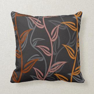 Coppertone Floral Garden Pillow