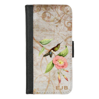 Coppery Bellied Puff Leg Hummingbird iPhone 8/7 Wallet Case