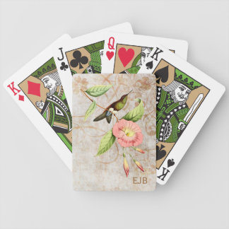 Coppery Bellied Puffleg Hummingbird Playing Cards Bicycle Playing Cards