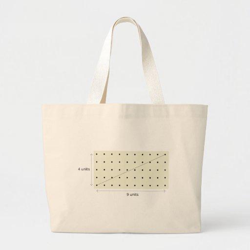 Coprime Lattice of 4 and 9 Jumbo Tote Bag