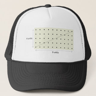 Coprime Lattice of 4 and 9 Trucker Hat
