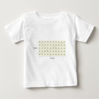 Coprime Lattice of 4 and 9 Shirt