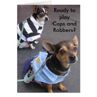 Cops and Robbers Card